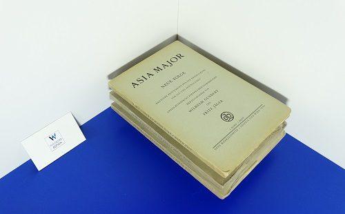 ASIA MAJOR - Neue Folge. Deutsche Zeitschrift für die Erforschung von Ost- und Zentralasien
