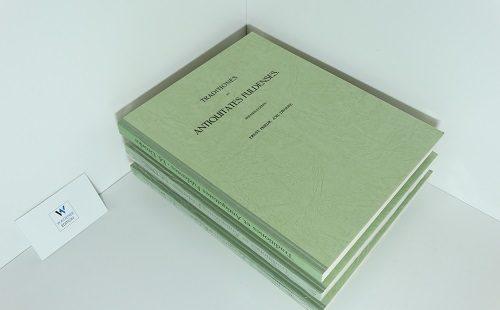 TRADITIONES ET ANTIQUITATES FULDENSIS - Ed. E. F. J. Dronke