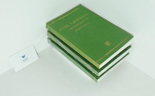 HERTZ, Martin - Carl Lachmann. Eine Biographie