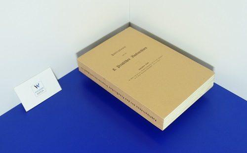 POSCHINGER, RITTER VON - Preußen im Bundestag 1851-1859. Documente der K.-Preußischen Bundestags-Gesandtschaft. - Teil 3: 1856-1859