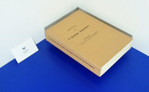 GRÜNHAGEN, C. / MARKGRAF, H. - Lehns- und Besitzurkunden Schlesiens und seiner einzelnen Fürstenthümer im Mittelalter. Teil 2