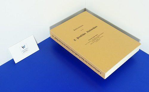 TSCHAKERT, P. - Urkundenbuch zur Reformationsgeschichte des Herzogthums Preußen - Band 2: Urkunden