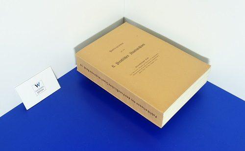 MEINARDUS, O. - Protokolle und Relationen des Brandenburgischen Geheimen Rathes aus der Zeit des Kurfürsten Friedrich Wilhelm. Band 2