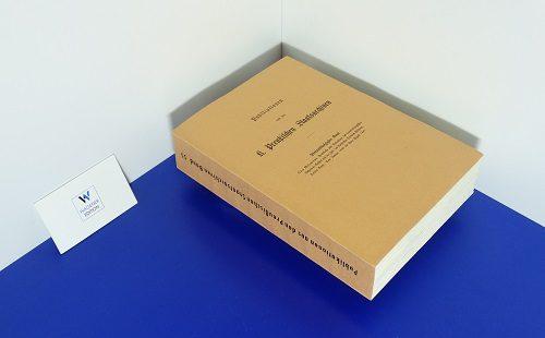 MEINARDUS, O. - Protokolle und Relationen des Brandenburgischen Geheimen Rathes aus der Zeit des Kurfürsten Friedrich Wilhelm. Band 3