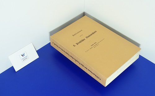 HASSEL, PAUL     Geschichte der preußischen Politik 1807-1815. Teil 1