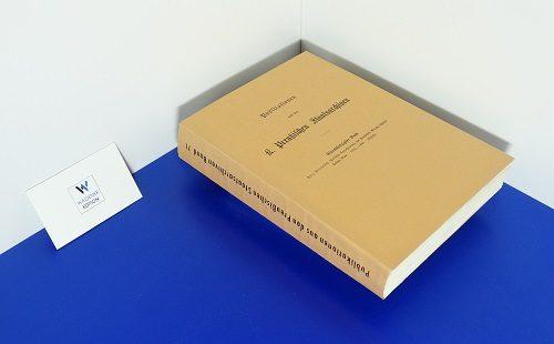 PRIEBATSCH, F. - Politische Correspondenz des Kurfürsten Albrecht Achilles. Band 3: 1481-1486