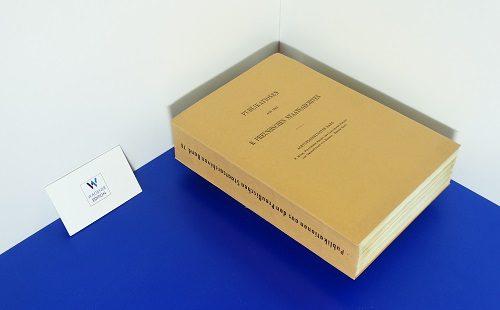 KÜCH, F. - Politisches Archiv des Landgrafen Philipp's des Großmüthigen von Hessen: Inventar der Bestände. Band 1