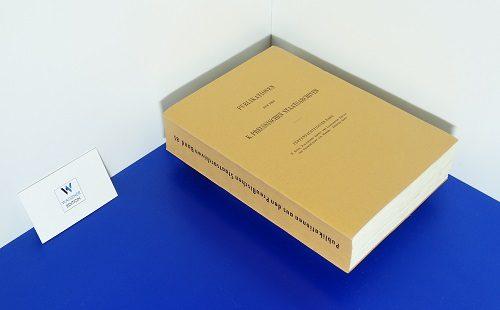 KÜCH, F. - Politisches Archiv des Landgrafen Philipp's des Großmüthigen von Hessen: Inventar der Bestände. Band 2