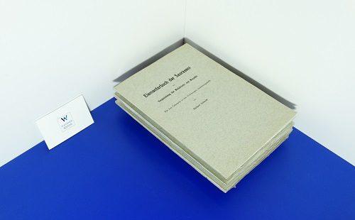 SCHMIDT, Richard - Elementarbuch der Sauraseni mit Vergleichung der Maharastri und Maghadi