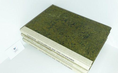 TAESCHNER, Franz- Alt-Stambuler Hof- und Volksleben. Ein türkisches Miniaturalbum aus dem 17. Jahrhundert. Band 1