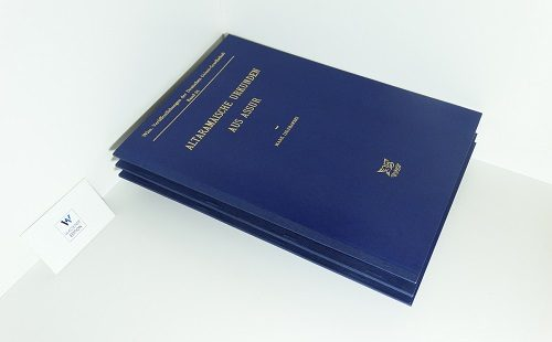 LIDZBARSKI, Mark - Altaramäische Urkunden aus Assur
