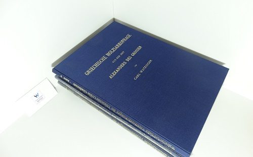 WATZINGER, Carl - Griechische Holzsarkophage aus der Zeit Alexanders d. Gr.