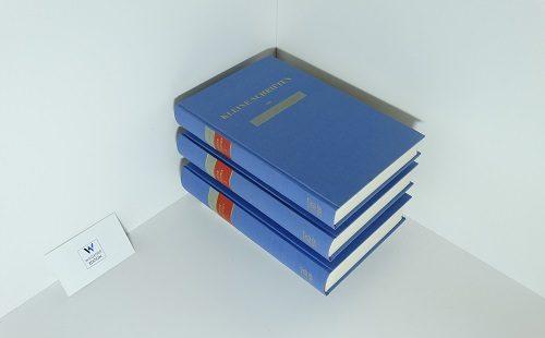 BÜCHELER, FRANZ - Kleine Schriften. Herausgegeben von E. Hense und E. Lommatzsch