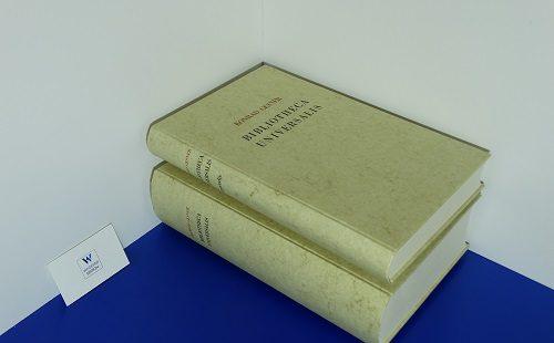 GESNER, Konrad - Bibliotheca universalis sive catalogus omnium scriptorum locupletissimus in tribus linguis, Latina, Graeca et Hebraica