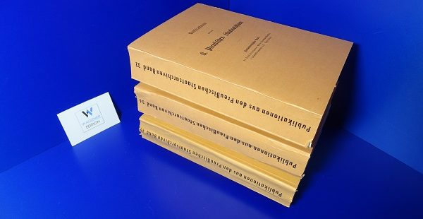 FRIEDLÄNDER, E. - Universitäts-Matrikeln: Universität Frankfurt a. O. 3 Bände.