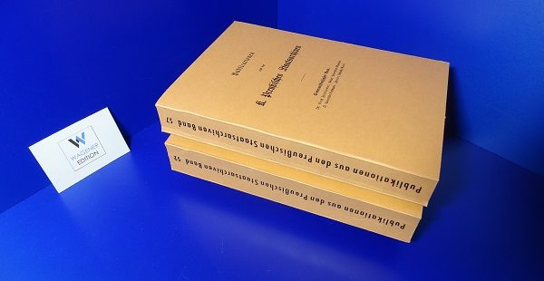 FRIEDLÄNDER, E. - Universitäts-Matrikeln: Universität Greifswald. 2 Bände.