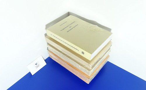 MIKLOSICH, Franz Xaver - Vergleichende Grammatik der slawischen Sprachen. 4 vols. Letztes Exemplar!