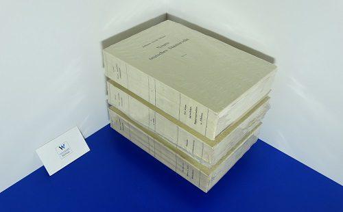MOSER, Johann Jakob - Neues teutsches Staatsrecht. 44 vols. LETZTES SET!