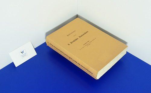 NUR NOCH 2 EXEMPLARE! SCHMIDT, G. - Urkundenbuch des Hochstifts Halberstadt und seiner Bischöfe. - Teil 1: Bis 1236