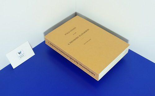 WYSS, A. - Hessisches Urkundenbuch. Abteilung 1: Urkundenbuch der Deutschordens-Ballei Hessen. Band 1: 1207-1299