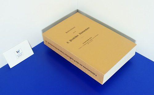 KELLER, L. - Die Gegenreformations in Westfalen und am Niederrhein: Aktenstücke und Erläuterungen. Teil 2: 1586-1609