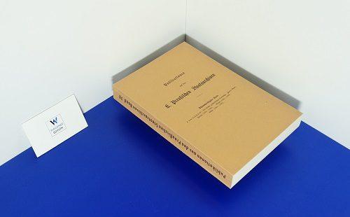 LEKSZYCKI, J. VON - Die ältesten Großpolnischen Grodbücher.  Band 2: Peisern 1390-1400. Gnesen 1390-1399. Kosten 1391-1400