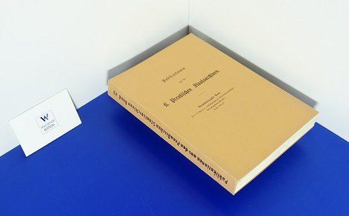 TSCHAKERT, P. - Urkundenbuch zur Reformationsgeschichte des Herzogthums Preußen - Band 1: Einleitung