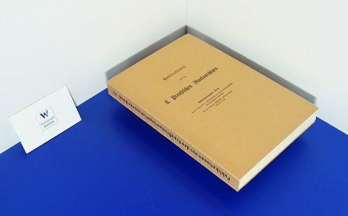 TSCHAKERT, P. - Urkundenbuch zur Reformationsgeschichte des Herzogthums Preußen - Band 3: Urkunden. Teil 2.