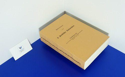 PRIEBATSCH, F. - Politische Correspondenz des Kurfürsten Albrecht Achilles. Band 1: 1470-1474