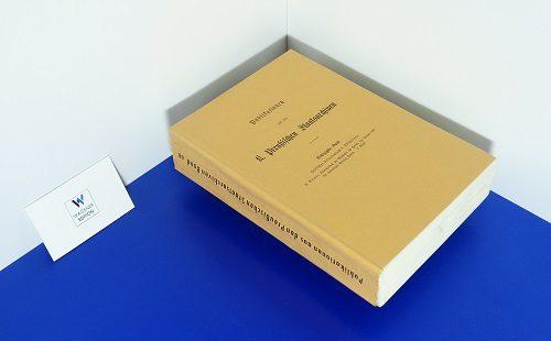 REIMER, H. - Hessisches Urkundenbuch: Abteilung 2: Urkundenbuch zur Geschichte der Herren von Hanau und der ehemaligen Provinz Hanau. - Band 3