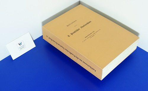 JANICKE, K. - Urkundenbuch des Hochstifts Hildesheim und seiner Bischöfe. Teil 1: Bis 1221