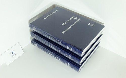 Josef Stammhammer - Bibliographie der Finanzwissenschaft