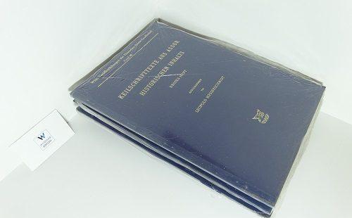 MESSERSCHMIDT, Leopold / DELITZSCH, Friedrich - Keilschrifttexte aus Assur historischen Inhalts. Heft 1
