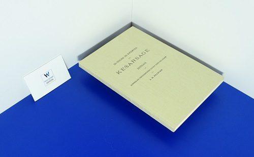 FRANCKE, A. H.: DER FRÜHLINGS- UND WINTERMYTHUS DER KESARSAGE. NUR NOCH 2 EXEMPLARE!