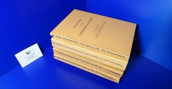 KOSER, R. / DROYSEN, H. u.a.: Briewechsel Friedrichs des Großen. 4 Bände.
